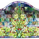 """Hampstead"" Standard Stained Glass Fireplace Screen"