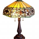 Baroque Tiffany Styled Table Lamp