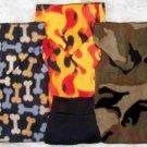 Hunters Camo, Flames & Bones SNUGGLY Vest Dog Clothes - 4 Szs
