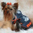 NFL Chicago Bears Dog Clothes Snuggly XS or SM (Med)