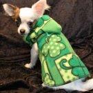 St Patricks Day Irish Dog Clothes Snuggly Vest XXXS to SM