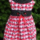 ANTS on Parade Dog Dress with Optional Hair Bows