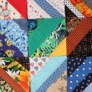 50 Quilt Blocks 5x5 Patchwork Piece Squares - Handmade