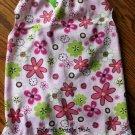Summer Shirt Dress Dog Clothes - 4 Sizes - Lime n Pink
