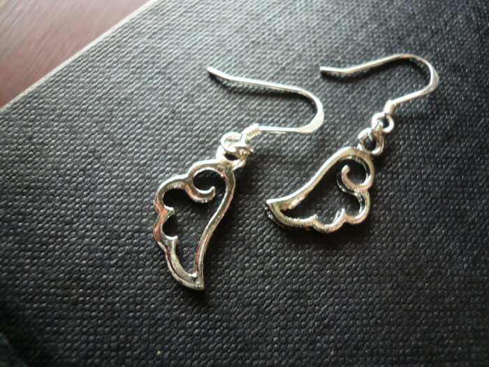 Angel Wing Silhouette Earrings