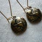 Gold Universe Earrings