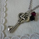 Steampunk Gothic Key Necklace