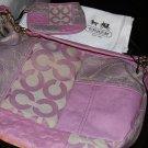 NWT! Coach Ali pieced large bag & wrislet!! 13651 42680