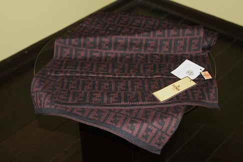 New 100% Authentic FENDI wool scarf