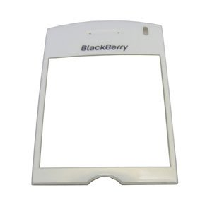 Blackberry PEARL 8100 LCD SCREEN GLASS LENS White