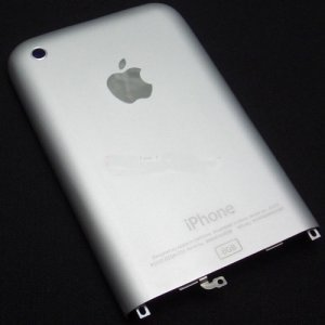 iPhone 2G 8GB Back Faceplate Housing Cover Silve