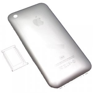 iPhone 3G 16GB Replacement Rear Panel Cover Silver