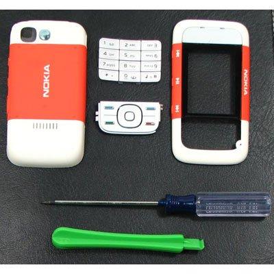 Nokia 5300 Faceplate Cover Orange