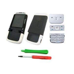 Black White Housing Faceplate Cover Nokia 5700 +Tools