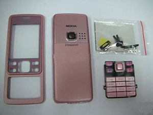 Pink Housing Faceplate Cover for Nokia 6300