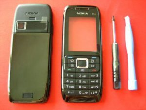 Black Replacement Housing Cover for Nokia E51