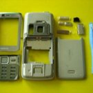 Silver Fascia Housing Cover for Nokia N82 with Keypad