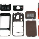 Brown FULL HOUSING FASCIA COVER FOR NOKIA N85 with KEYPAD