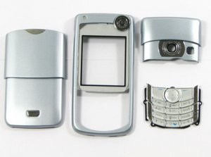Nokia 6680 Full Housing Shell Cover Silver