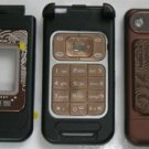 Replacement Housing Cover for Nokia 7390 N7390 with keypad ( Brown )