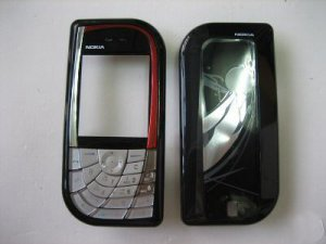 Black Cover Housing Fascia for Nokia 7610 N7610 with Keypad