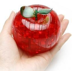3D Crystal Jigsaw Puzzle Red Apple 45pcs