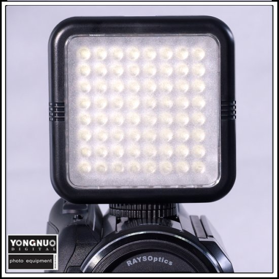 64 LED Video Light for DV Camcorder Lighting