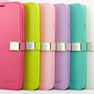 Wallet Style Mobile Phone Case With Strap For Samsung Galaxy Note 3 N9000
