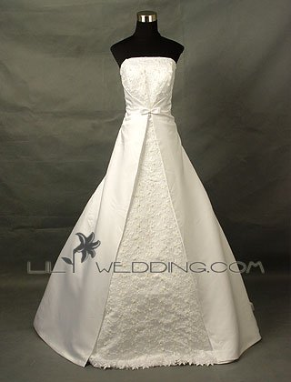 Modest Wedding Dress - Style LWD0004