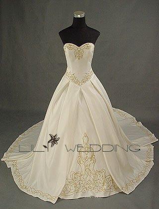 Beautiful Wedding Dress - Style LWD0013