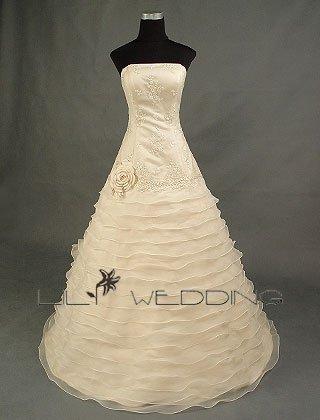 Custom Wedding Dress - Style LWD0014