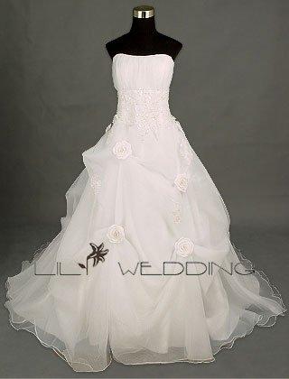 Lace Wedding Dress - Style LWD0018