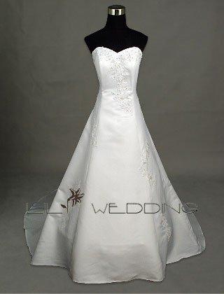 Vintage Bridal Dress - Style LWD0025