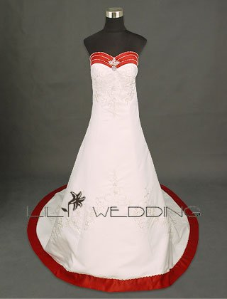 Couture Wedding Gown - Style LWD0036