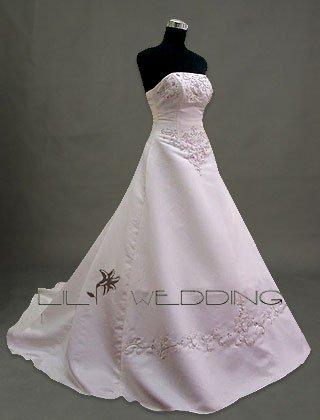 Elegant Wedding Gown - Style LWD0041