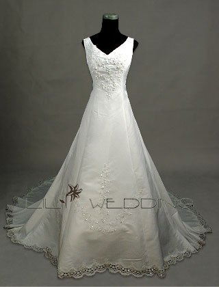 Exclusive Wedding Gown - Style LWD0042