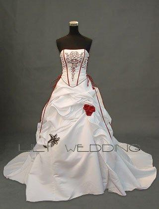 Unique Wedding Gown - Style LWD0049
