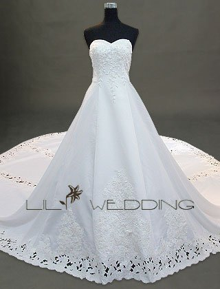 Couture Wedding Gown - Style LWD0051