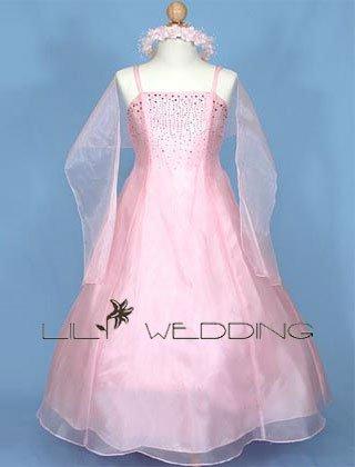 Inexpensive Flower Girl Dress - Style LFG0005