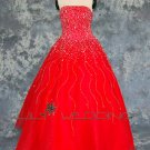 Red Wedding Dress - Style LWD0058
