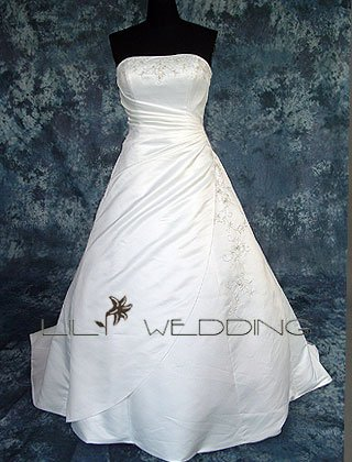 A-Line Bridal Dress - Style LWD0059
