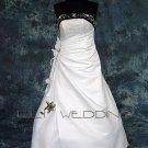 Semi-Cathedral Princess Wedding Dress - Style LWD0077