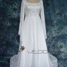 Long Sleeve Wedding Gown - Style LWD0080