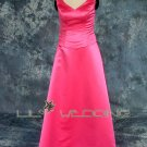 V-Neck Style Cheap Bridesmaid Dress - Style LED0018