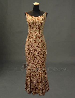 Lace Inexpensive Bridesmaid Dress - Style LED0023