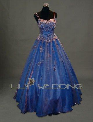 Blue Wedding Dress - Style LWD0120