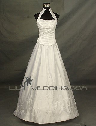 Beading And Embroidery Wedding Dress - Style LWD0133
