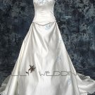 Scoop Neckline Wedding Dress - Style LWD0145