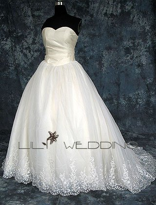 Sweetheart Ball Gown - Style LWD0146