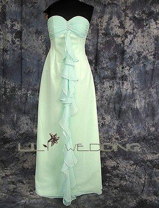 Chiffon Unique Bridesmaid Dresses - Style LED0048